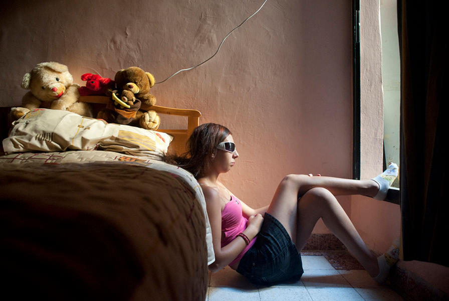 Stephanie, Beirut 2010 - A Girl and Her Room
