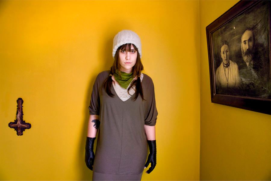 Jess, Jamaica Plain MA - A Girl and Her Room