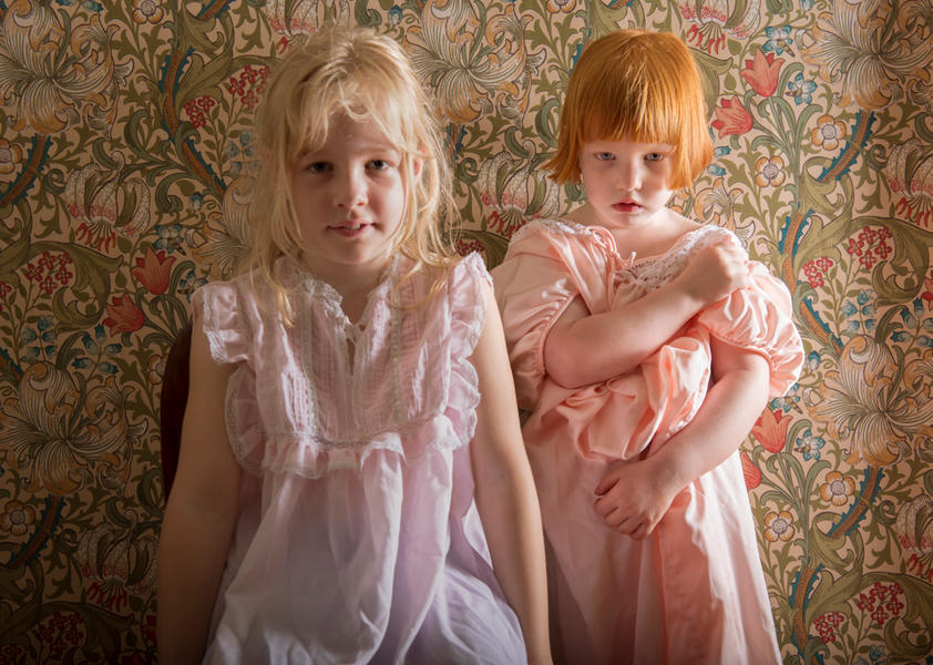 Anna and Lucy, 2012