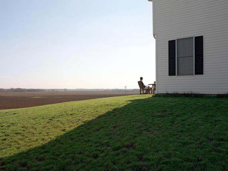 New House Flanking Farmland, Central Illinois 2007