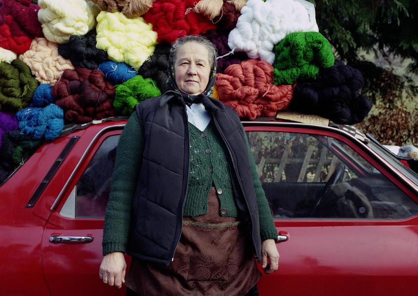 Yarn Lady, Ocna, Maramures