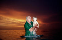 Grandfather and Grandson, Naples, Florida