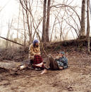 Jeff and Mary by Long Hungry Creek, TN