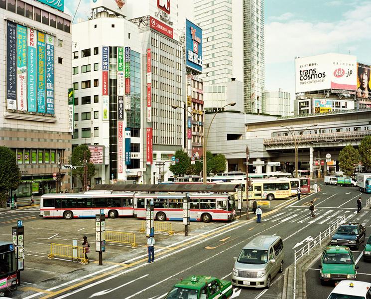 Morning in Shibuya, from Japan 2004-2011