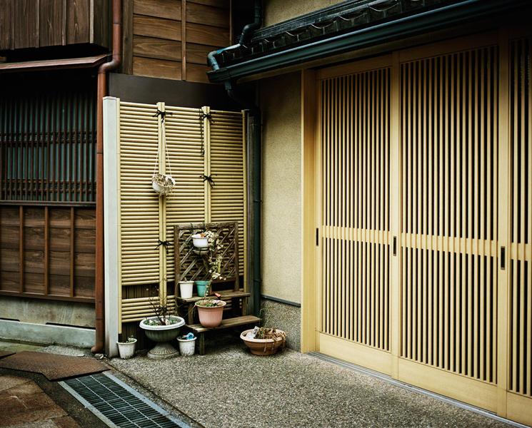 Yellow Door, Kanazawa, from Japan 2004-2011