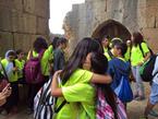 Druze schoolchildren, Nimrod Fortress