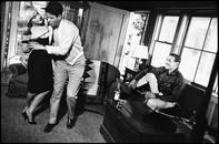 Marilyn Monroe, Eli Wallach, Clark Gable, 1961.