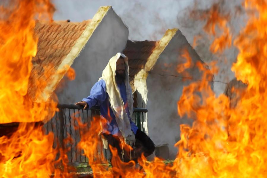 The Shtetl is Burning