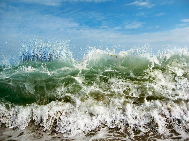 Ocean Wave 01, Long Island, New York 2006