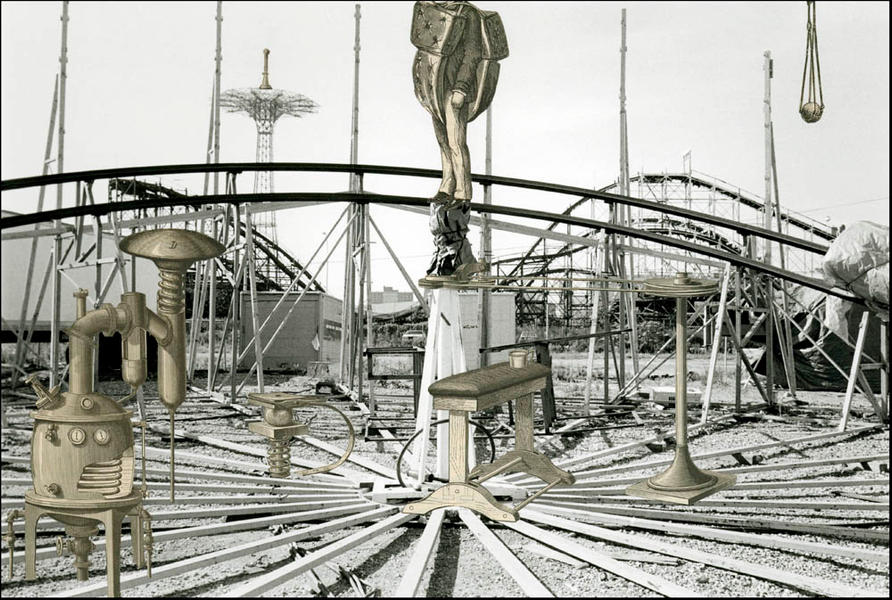 Coney Island-Invented Landscape #90B-NY-2003