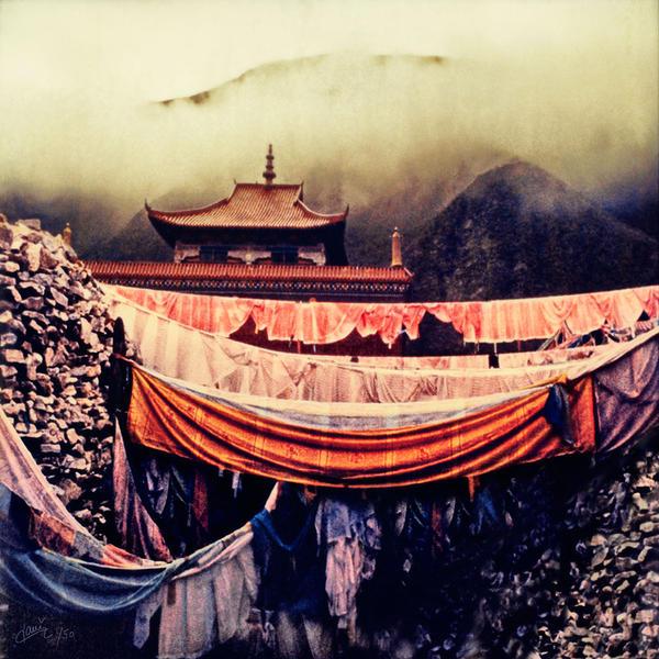 Gyana Mani Stone Temple, Jyekundo, Tibet