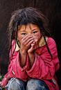 Young Nomad Girl, Amdo, Tibet
