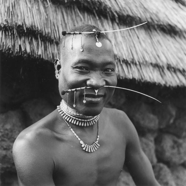 Bassari Man, Guinea, 1953