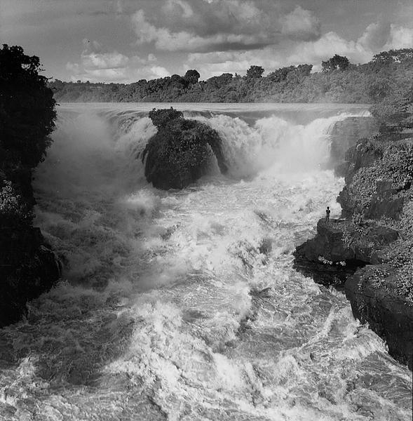Congo River, Central Africa, 1953