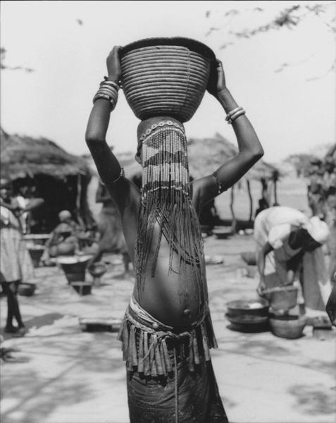 Unidentified Girl, Chad, 1949