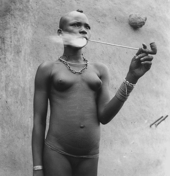 Unidentified Woman, Benin, 1953