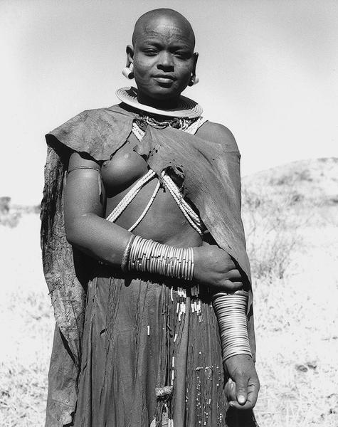 Maasai Woman, Tanzania, 1953