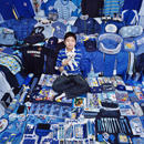 Haewook and His Blue Things, Light jet Print, 2007