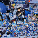 Kihun and His Blue Things, Light jet Print, 2007