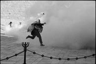 Demonstration, Western Wall, Jerusalem, 1989