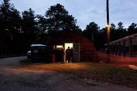 Hunter Check Station, 5:43 AM