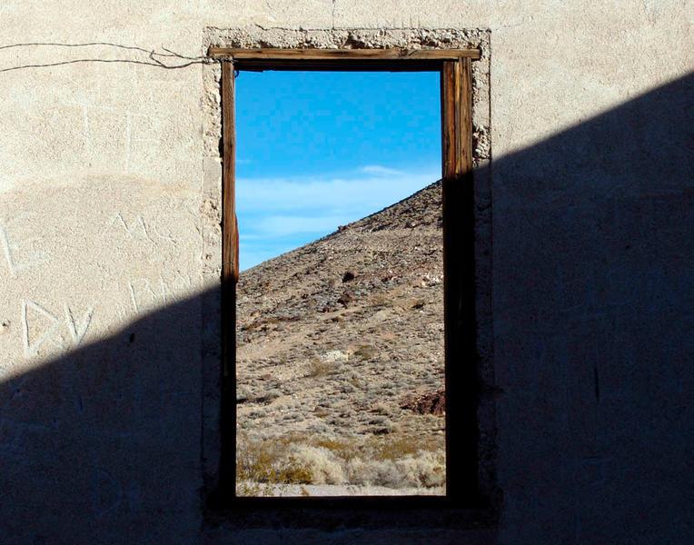 Wall, Rhyolite, Nevada