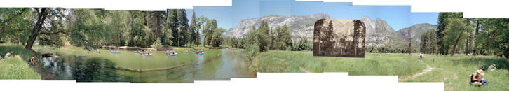 Yosemite Falls and the Merced River, 2003