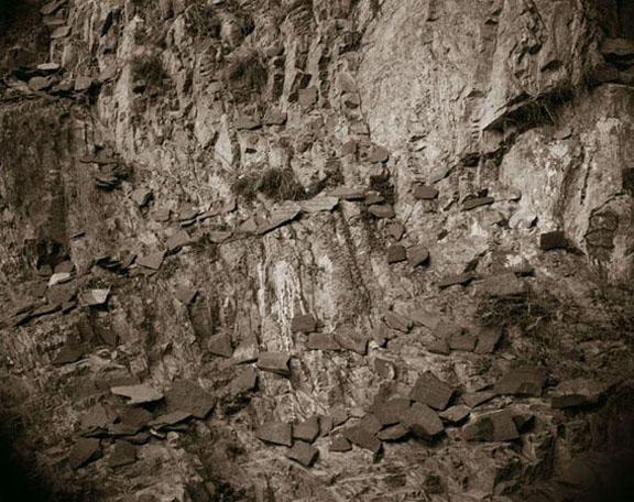 Mani Stones, Lhasa, Tibet, 1993