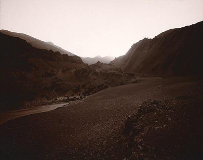 Dark Landscape, Indus, India, 1998