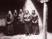 Pilgrims, Hemis Monastery, Ladakh, 1998