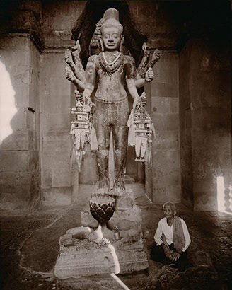 Shiva, Angkor Wat, Cambodia, 1999