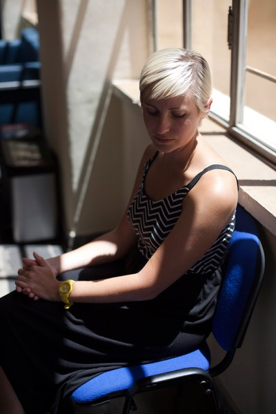 Sad Girl, Sitting Girl