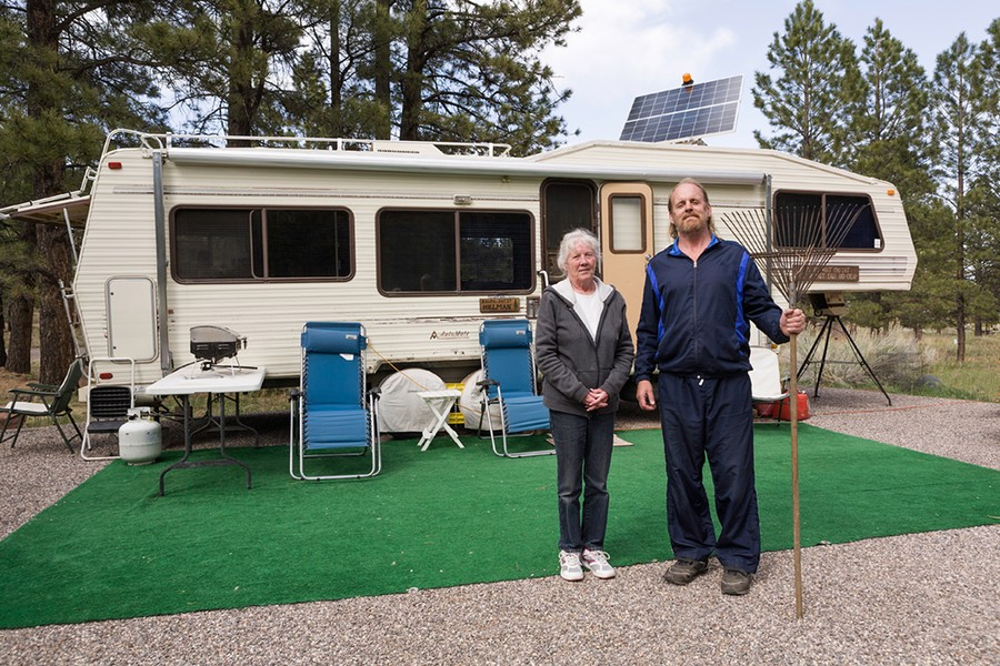 Ralph and Patsy, Campground Hosts. UT