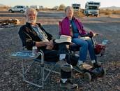 Ed and Carol, Full-timers. Quartzsite, AZ