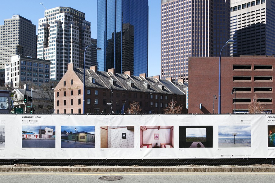 The Fence at Photoville (Boston 2014)