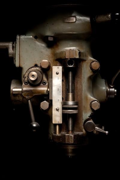 Headstock, Bridgeport Vertical Milling Machine