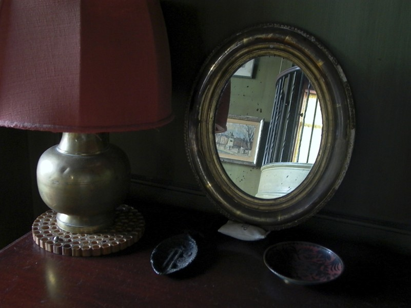 Lamp and Mirror