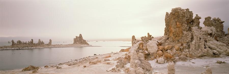 Snowstorm, Mono Lake