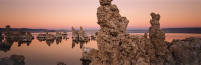 Tufa & Moon, Mono Lake