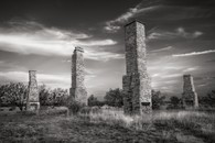Chimneys, Fort Phantom Hill, Texas