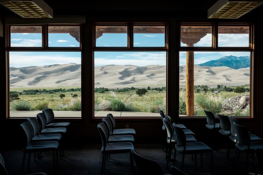 Visitor Center, Great Sand Dunes Natl Park