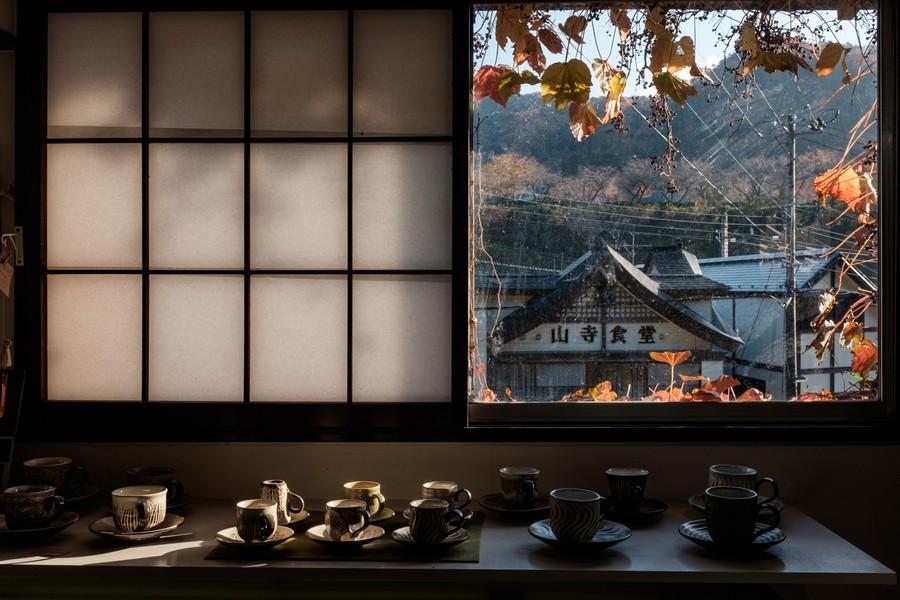 Coffee Cups in November, Yamadera