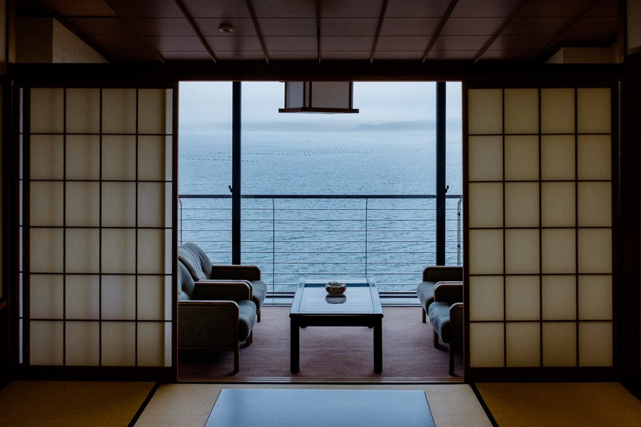 Rainy Spring Day on the Sea of Japan, Noto