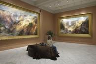 Viewing Moran, Smithsonian Museum