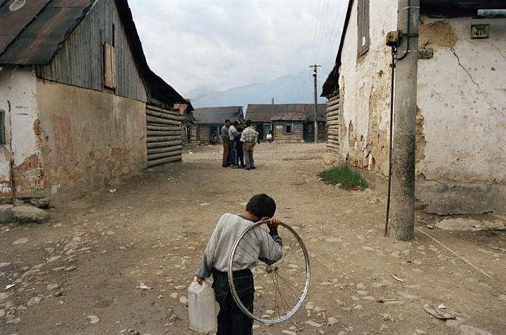 Collecting Water, Rakusy, Slovakia