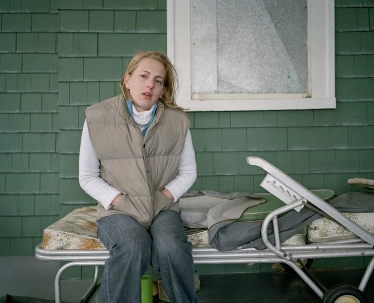 Julia on Easter Weekend, 2005