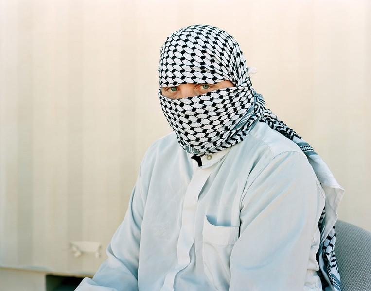 Civilian Joshua Osborne as an Iraqi civilian, 2008